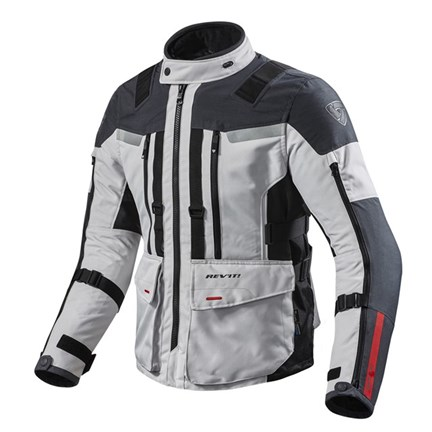 Revit Jacket Sand 3 Silver-Anthracite front